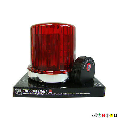 The Goal Light NHL Edition. Equipped with 30 NHL Team Horns. Refurb.