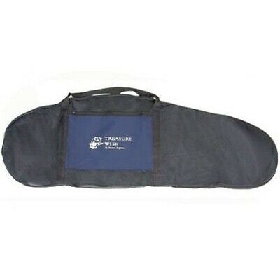 Treasure Wise Full Length Padded Metal Detector Carry Bag with Zippered Storage