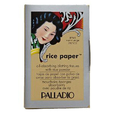 3 packs Palladio Rice Paper (Warm Beige) Oil Absorbing Facial Tissues