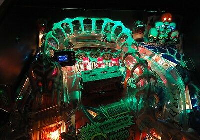 Scared Stiff Pinball Playfield Light mod Red or Green