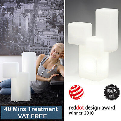 Innosol Kubo Modern Table Lamp SAD Light Therapy Box Seasonal Affective Disorder