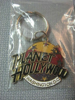 NEW Planet Hollywood Key Chain Ring Keychain Washington D.C. Not A Pin Not HRC