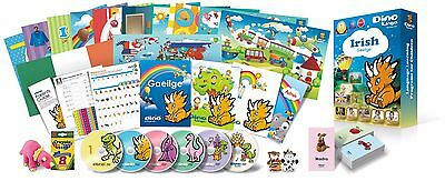 Irish for Kids Deluxe set, Irish learning DVDs, Books, Posters, Flashcards