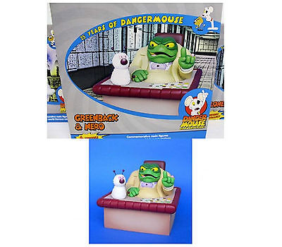 Dangermouse Greenback & Nero Figure 25 Years Of Danger Mouse Brand New