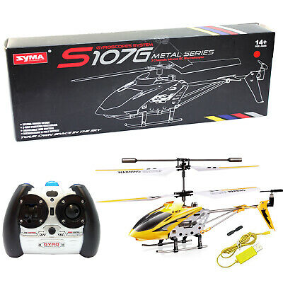 Cheerwing S107 S107G 3CH 3.5CH Mini Alloy Remote Control RC Helicopter Gyro