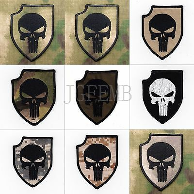 ACT OF VALOR PUNISHER SealTeam6 morale military Embroidery Patch Badges