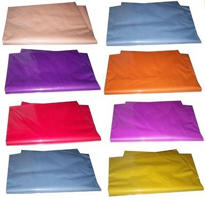 """COLOURED TISSUE PAPER - HIGH QUALITY - LARGE SHEETS 20 x 30"""""""