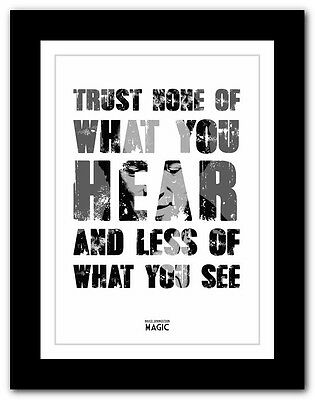 ❤ BRUCE SPRINGSTEEN - Magic ❤ song lyric poster typography art print - 4 sizes