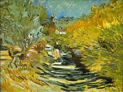 Les vaches by Vincent Van Gogh Giclee Fine Art Print Reproduction on Canvas
