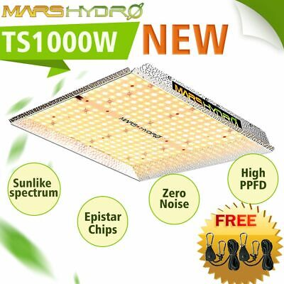 Mars Hydro 300W LED Grow Light Indoor Plant Full Spectrum Veg Flower Hydroponics