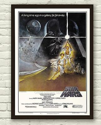 Alternative Star Wars Rare Movie Film Poster Print Picture A3 A4