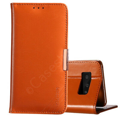 Samsung Galaxy Note 8 Premium Genuine Real Leather Stand Flip Case Luxury Cover