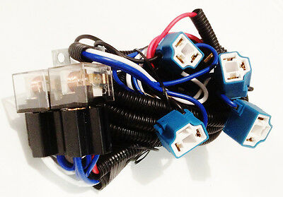 Plymouth Headlight Relay Wiring Harness 4 Head Lamp Systems Fix Dim Lights H4