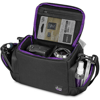 Camera Bag Case for Canon Nikon Sony DSLR & Mirrorless Cameras by Altura Photo®