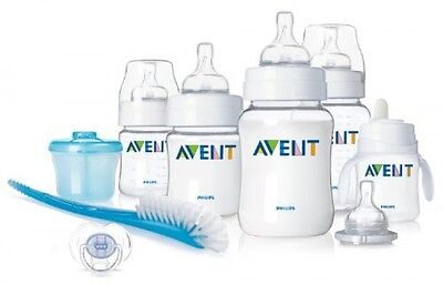 Philips AVENT BPA Free Classic Infant Starter Gift Set, New, Free Shipping