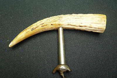 Vintage English Horn/ Antler Corkscrew…