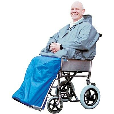 Wheelchair Cape With Sleeves Waterproof Wheelchair Clothing At Bayliss Mobility