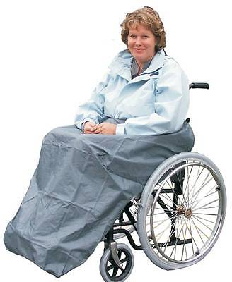 Waterproof Wheelchair Apron - Waterproof Leg Cover For Use On Wheelchairs.
