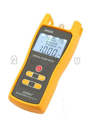 Handheld Optical Power Meter JW3208A Laser Fiber Optic Tool Tester -70 to +3dBm