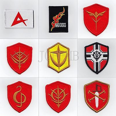 GUNDAM Military Tactical Morale Embroidery Patch Badges Series 4