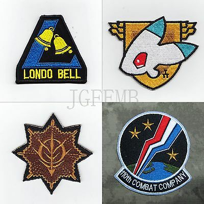 GUNDAM Military Tactical Morale Embroidery Patch Badges Series 6