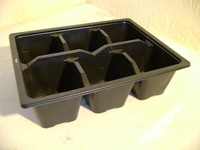 30 X 6 Cell 1/2 Size Seed Tray Inserts Excellent Value Xxxxxxx