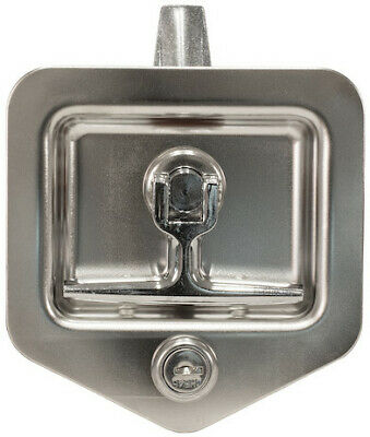 Buyers Products L8915, Single Latch Point Galvanized Steel Folding T-Latch