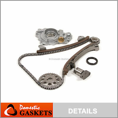 TIMING CHAIN KIT Water Oil Pump for 00-06 Toyota Corolla Celica GTS