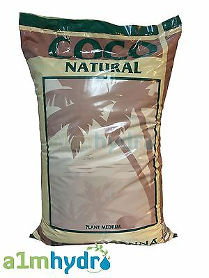 Canna Coco Natural 50 Litre Coir Growing Medium Bag Hydroponics