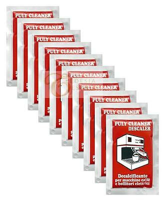 Puly 'Baby' Espresso Coffee Machine Cleaner Descaler Limescale Remover Sachets