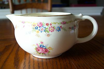Taylor Smith and Taylor Floral Motif w/ Gold Band Creamer (TST298) Free Shipping