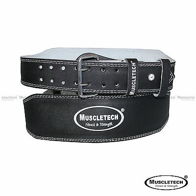Leather Gym Weight Lifting Belt Back Support Exercise Belt Fitness Training Belt