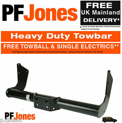 Towbar for Volkswagen T4 Caravelle 1991-2003 - Flange Tow Bar
