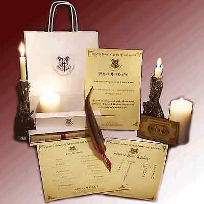 Harry Potter Hogwarts Magical Quill Set, IDEAL BIRTHDAY GIFT FOR BOYS OR GIRLS