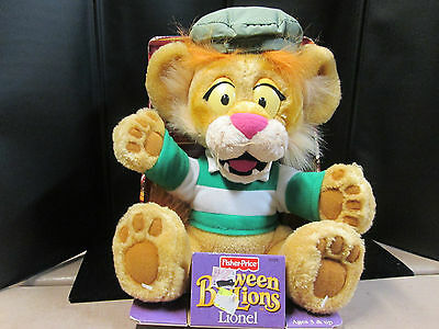 "12"" Between the Lions (Lionel) by Fisher Price 2001, New in the Packaging"