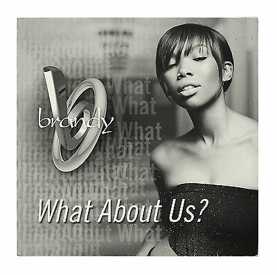 """Brandy - What About Us? - 12"""" Vinyl Single"""