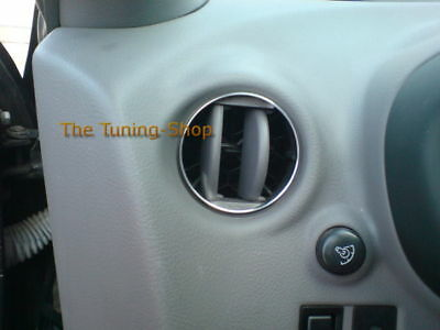 For Toyota Celica 99-06 Chrome Air Vents Rings Surrounds