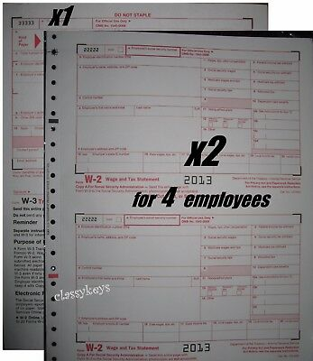 2016 Irs Tax Form 1099 Misc Carbonless 2 Sets For 4 Recipients