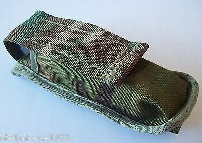 NEW - Genuine MoD Issue MTP Multicam Pistol Magazine / Knife Pouch