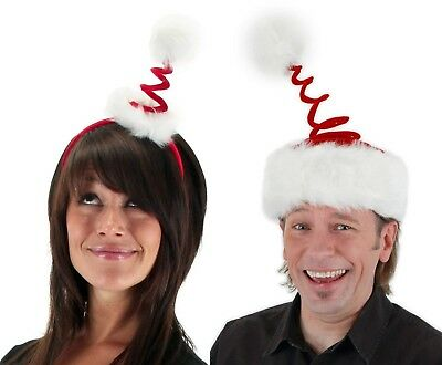 Smiffy/'s Light Up Santa Hat Deluxe Red