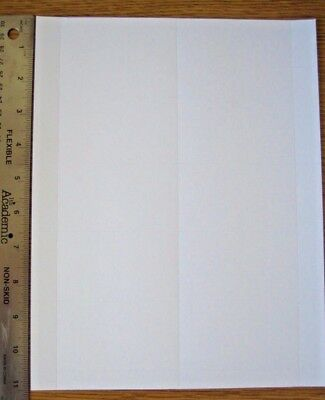 "50 cards (5 sheets) blank Business Card Stock 3.5""x2"" -- Inkjet/Laser compatible"
