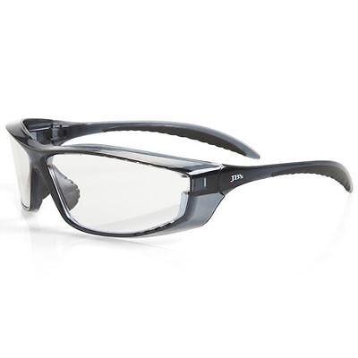 12 Pack Clear Vented Wrap Around Safety Glasses Specs Aus Safety Standards New