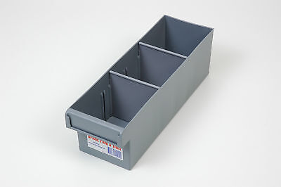Fischer Plastic Products Spare Parts Trays 100mm x 100mm x 300mm (For Grey Only)