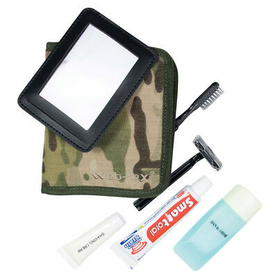 Web-Tex Military Compact Folding Wash Kit Camping Hiking Travel Multicam Camo