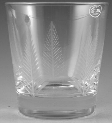 "STUART Crystal - WOODCHESTER Cut - 7oz Tumbler Glass / Glasses - 3 1/2"" (1st)"