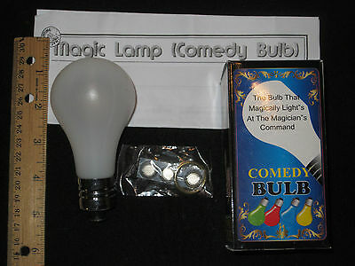The Magic Lamp Trick - Light-Bulb Magically Lights Up - Spooky Stage, Halloween