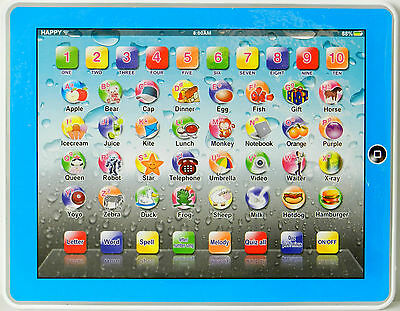 New Educational Tablet Computer Ipad Children Kids Educational Play Read Toy