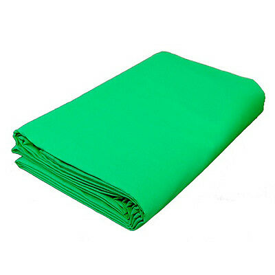 3mx6m Chromakey GREEN Backdrop Cotton Muslin Background Screen Photography Video