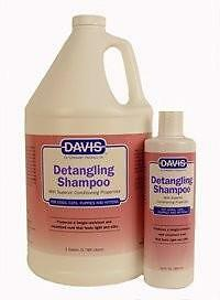 DAVIS Detangling Shampoo Professional Grooming Products Dogs Cats Horses 12 oz