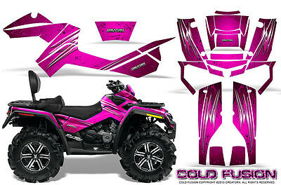 Can-Am Outlander Max 500 650 800R Graphics Kit Creatorx Decals Stickers Cfp